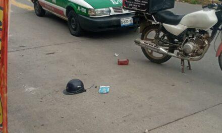 Accidente de tránsito a la altura de Jardines de Xalapa