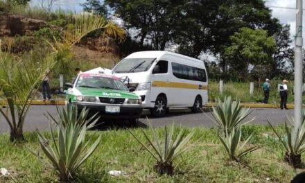 Accidente de tránsito en zona de La Pradera