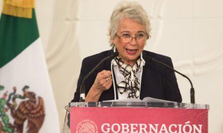 Olga Sánchez Cordero alerta que cuenta falsa de WhatsApp pide dinero a su nombre