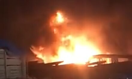 La noche de este viernes se registró un incendio en la refinería de Salina Cruz
