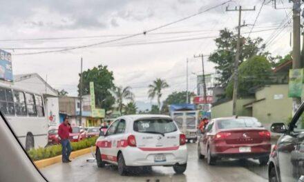 Accidente en la carretera Xalapa- Coatepec
