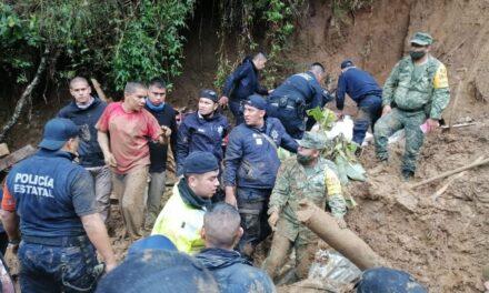Localiza SSP a siete personas fallecidas por derrumbes en Xalapa