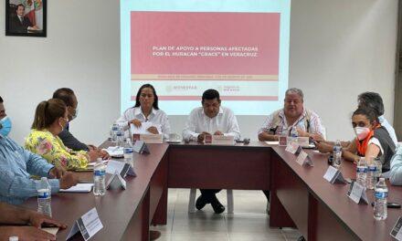 Bienestar Inicia Censo De Damnificados En Veracruz Tras Paso De Grace