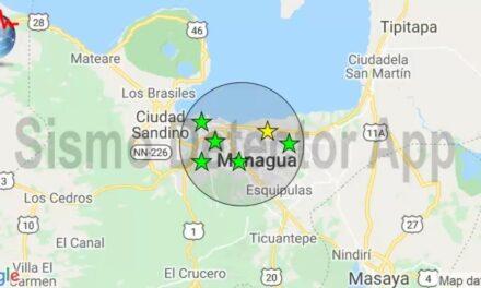Sismo de magnitud 5.1, en Pochomil, sacudió el pacífico de Nicaragua
