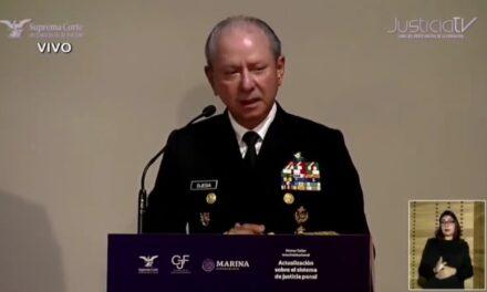 El titular de SEMAR, José Rafael Ojeda Durán, pidió disculpas por sus declaraciones donde afirmó que el enemigo está en el Poder Judicial.