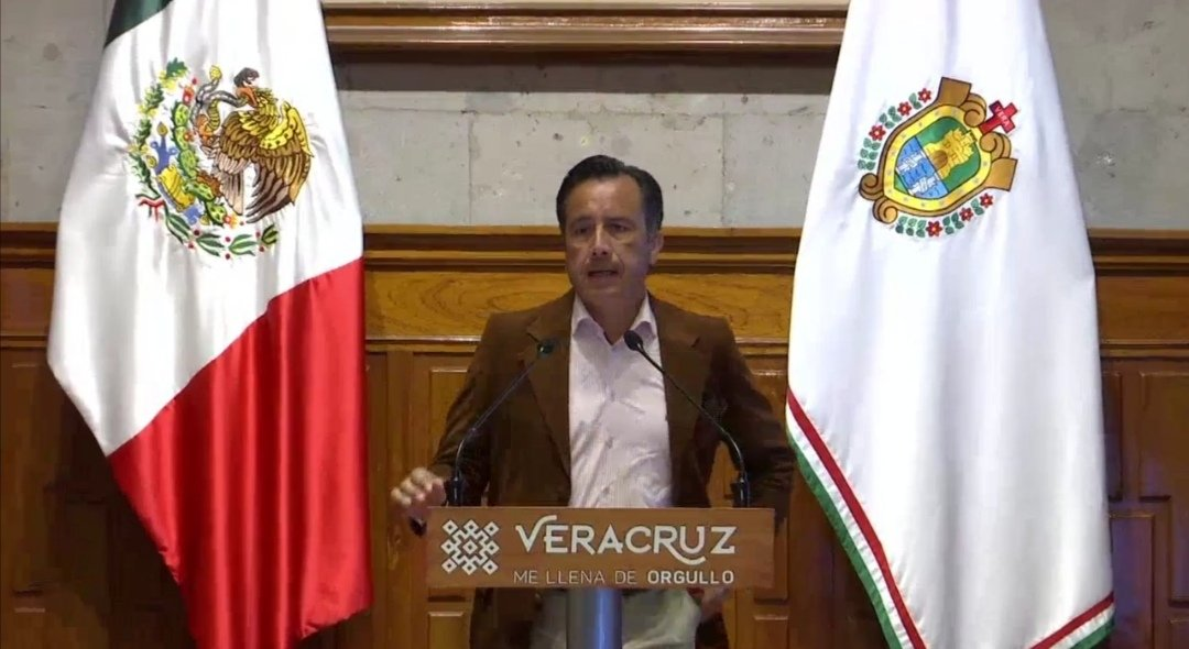 Grito de Independencia será virtual, anuncia gobernador de Veracruz.