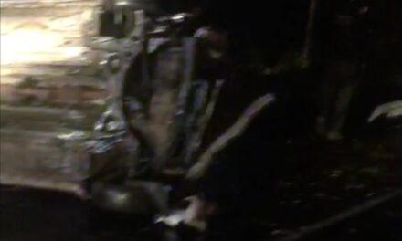 Se voltea vehículo en la carretera Xalapa – Veracruz, a la altura del Batallón de El Lencero