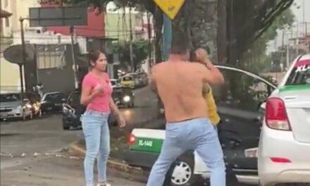 Video: Conductores protagonizan pelean en Xalapa
