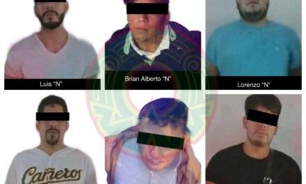 Intervienen a seis por amenazas y ultrajes a la autoridad en Xalapa