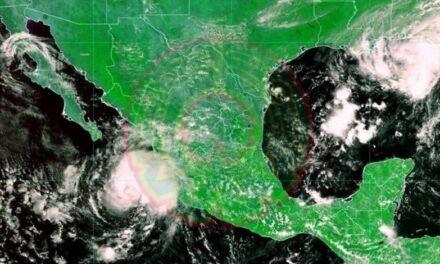 """Tormenta tropical """"Olaf"""" se forma frente a las costas de Jalisco"""
