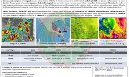 Emiten Alerta Gris en Veracruz; vienen 'lluvias y tormentas muy fuertes'