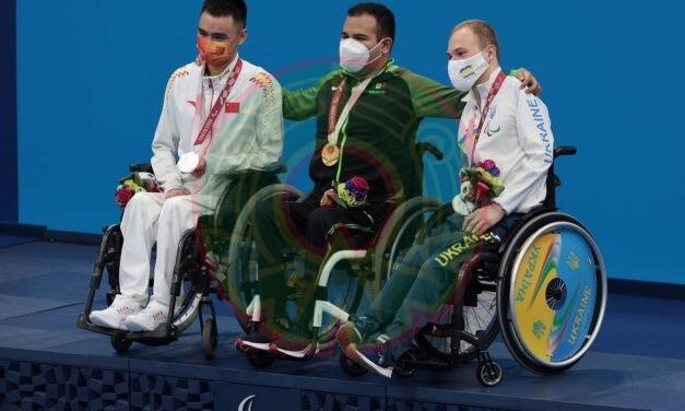 Xalapeño Diego López ganó la medalla de Oro en la final de los 50m libres, se trata de su segunda medalla en Tokyo2020