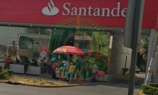No eres tu!, es tu banco Santander el que reportó fallas con tarjetas de débito en México