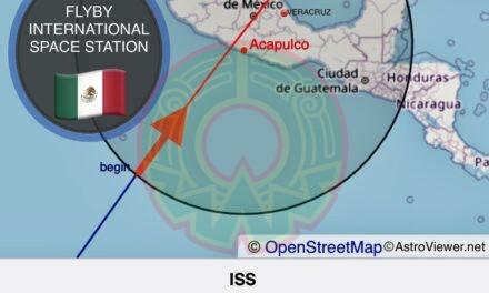 Si el clima lo permite, en Veracruz se podrá observar Estación Espacial Internacional