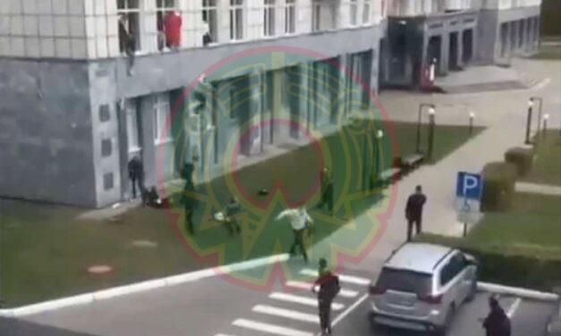 Tiroteo en universidad deja 8 muertos y 24 heridos en Rusia