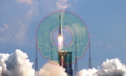 China lanzó nave de carga Tianzhou 3 este martes