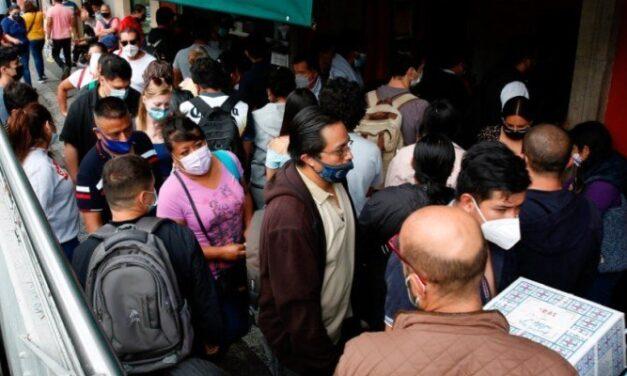 En las últimas 24 horas, México registró 11 mil 711 contagios y 765 muertes por COVID-19