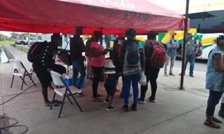Resguarda SSP a 71 migrantes en región sureste del estado
