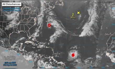 'Sam' se intensifica a huracán categoría 2 en el Atlántico