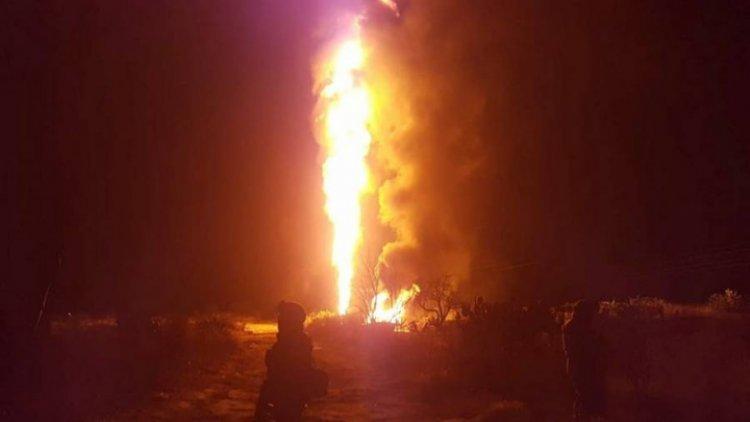 Explosión en toma clandestina conectada al ducto de Tuxpan-Azcapotzalco