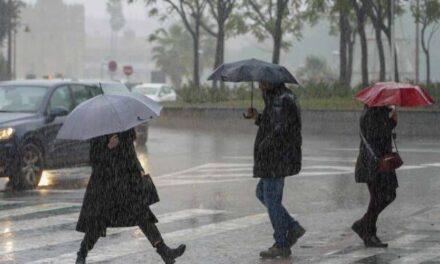 SMN prevé lluvias en Veracruz y diez estados más  para esta noche