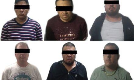 Detiene SSP a seis por robo a tienda departamental, en Xalapa