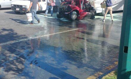 Persona pierde la vida en accidente sobre el Bulevar Xalapa-Banderilla