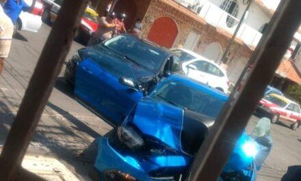 Accidente en la avenida Guadalupe Victoria, en el puerto de Veracruz
