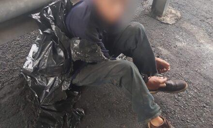 Reporte de persona embolsada en la carretera Xalapa- Veracruz , resultó ser una persona dormida: SSP
