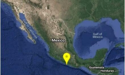 Se registra sismo de magnitud 4.2 en Acapulco, Guerrero