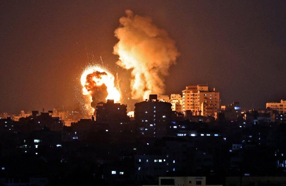 Israel bombardea Franja de Gaza Suman tres días de hostilidades