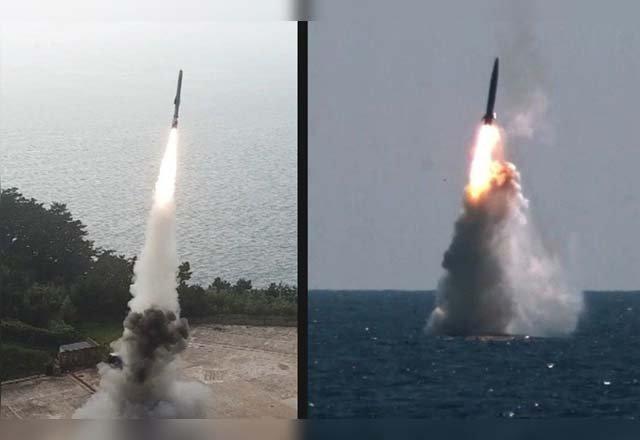 Tensión entre Corea del Norte y Sur: Pionyang dispara dos misiles; Seúl responde con uno desde un submarino