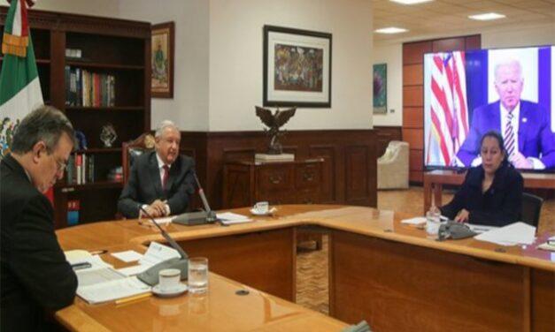 Dialoga AMLO con Biden sobre cambio climático; no hacen público mensaje pronunciado
