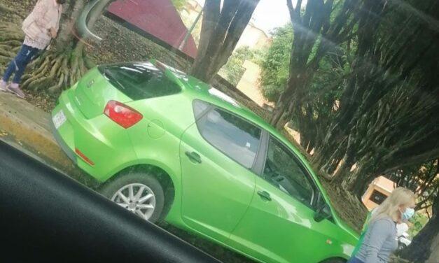 Accidente de tránsito sobre la Avenida Rebsamen, Xalapa