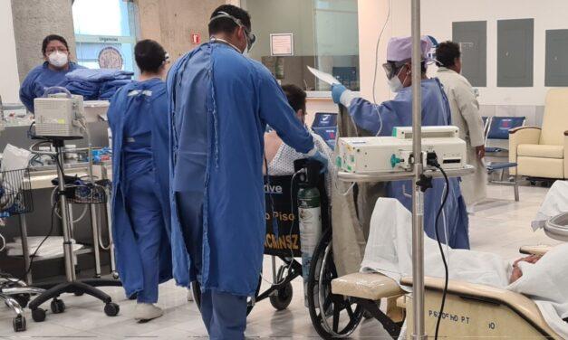 Reportan 200 muertes más por COVID y otros 4 mil 983 casos