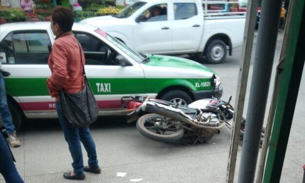 Accidente de tránsito en la Colonia Revolución, Xalapa