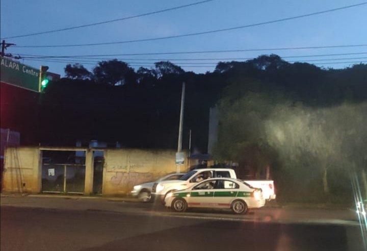 Accidente de tránsito sobre Arco Sur, Xalapa