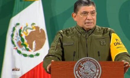 Luis Cresencio Sandoval informa que sigue en pie la capacitación en Derechos Humanos a personal militar.