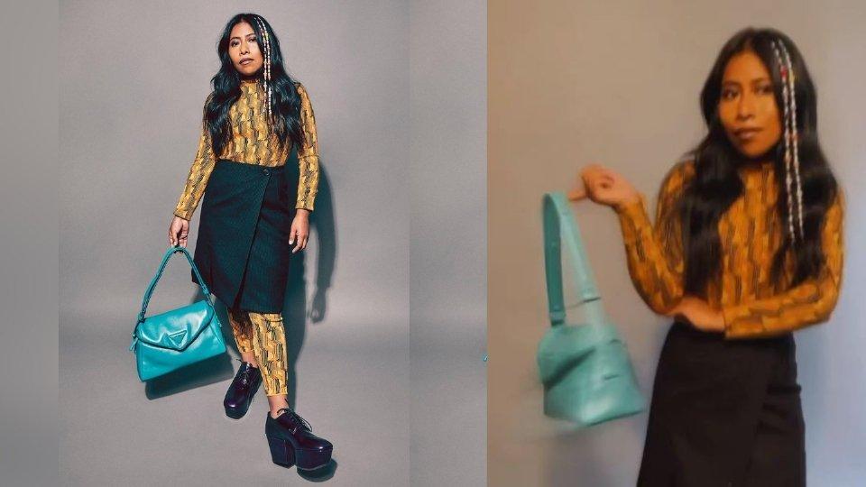 Yalitza Aparicio sorprende usando la nueva colección de Prada Spring 2022