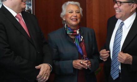 Marcelo Ebrard comparece ante el Senado