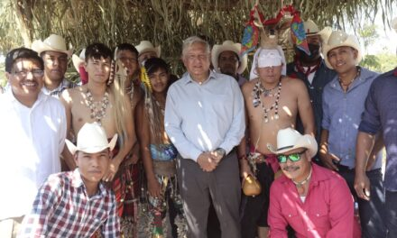 Presidente encabeza petición de perdón al pueblo yaqui por crímenes de Estado