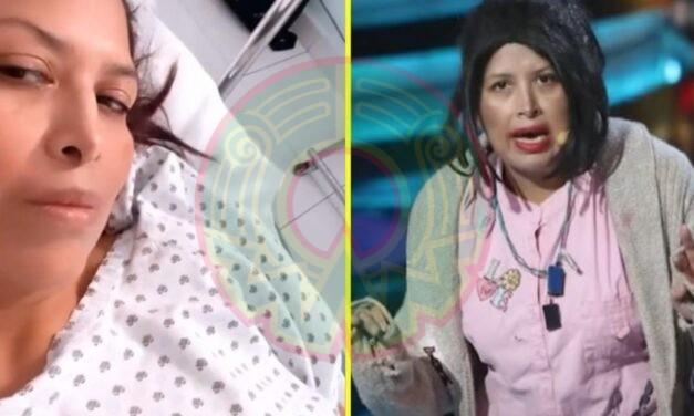 """""""Por si estaban con pendiente"""": Hospitalizan a 'La Chupitos'; esto se sabe al respecto"""