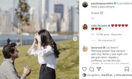 Hija de Peña Nieto se nos casa! Así le dieron el anillo a Paulina