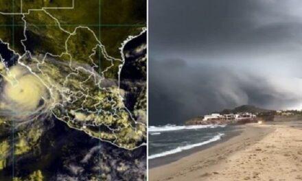 Declaran alerta roja en Baja California Sur por Olaf, prevén toque tierra como huracán categoría 2