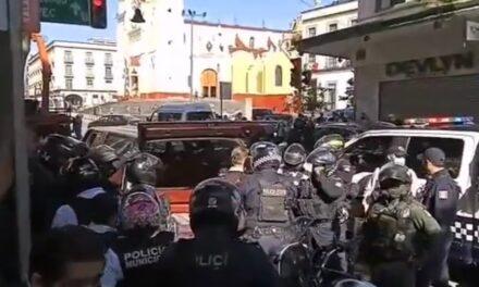 Video: Detienen a sujeto en la zona centro de Xalapa