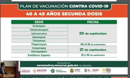 Pide gobernador Cuitláhuac a adultos de 30 a 45 años no confiarse ante COVID, aun estando vacunados