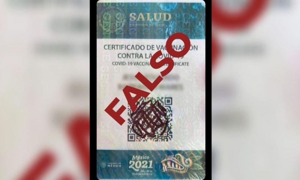 ¡Cuidado! Salud alerta sobre falsa tarjeta de vacunación contra Covid-19