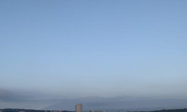 En las próximas 24 horas se prevé persista la probabilidad de nieblas, lloviznas