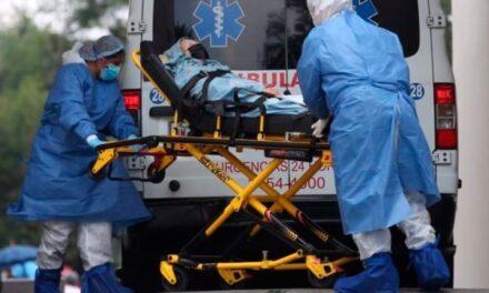 En las últimas 24 horas en México 2 mil 282 casos positivos de covid 19 y 303 personas fallecidas