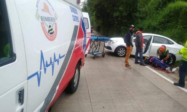 Continúan los accidentes en la carretera Xalapa – Coatepec este domingo